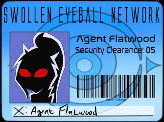 Agent Flatwood - SEN ID by Galaxy-Chi-Chan