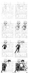 step by step inking... by sureya