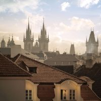 Morning smoke of Old Prague by AlexGutkin