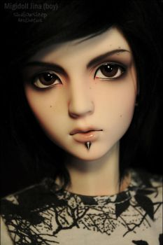 Face-up: Migidoll Jina - 6 by asainemuri