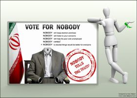 VOTE FOR NOBODY by imanwow