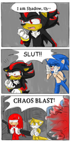 Shadow the... by TehArtMonkey