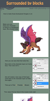 surrounded by blocks tutorial by griffsnuff