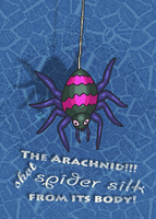 An Arachnid from EarthBound by Erikku8
