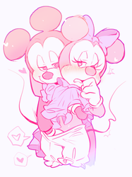 mickey and minnie by hentaib2319