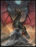 Dragon being all cool and stuff by RogierB