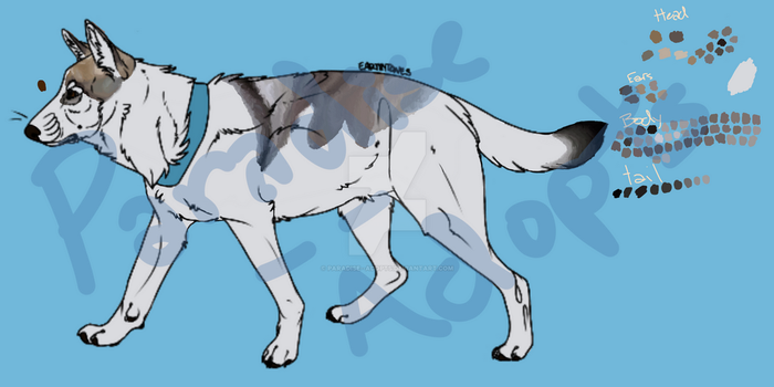 Mystery Canine Reveal #1 by Paradise--Adopts