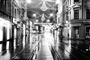 A street in Zagreb by omega3r