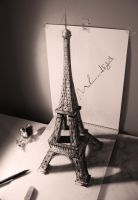 Eiffel tower 3D by Muhammad-Ejleh