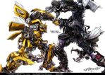 Transformers the movie by Wangyuxi