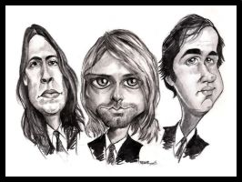 Kurt, Dave and Krist by ImRoGeR