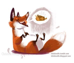 What Does the Fox Say? by kiki-doodle