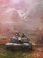 Flashpoint Germany: Abrams Tank by Mitchellnolte
