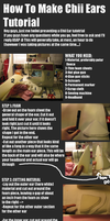 .:Making Chii Ears Tutorial:. by heilei