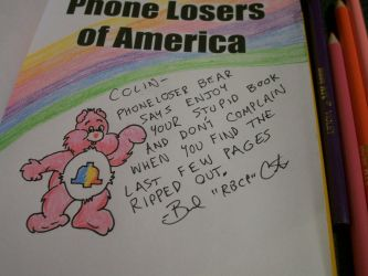 Phoneloser Bear by rbcp
