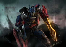 Optimus Prime by Jord-UK