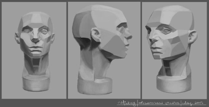 Asaro head studies by ralidraws