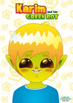 Karim and the Greenboy poster by Onelansou