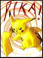 PIKACHU by elquijote