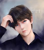 Taehyung - LOVE YOURSELF: Tear by Mari945
