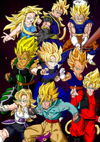 SSJ Tournament Colour (Updated) by InfintyGohan