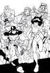 All-Stars Assemble by wonderfully-twisted