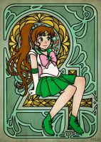 Sailor Jupiter by Draw-out-loud