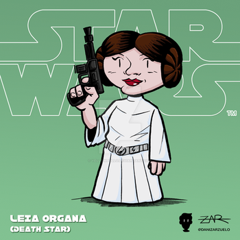 Starwars 003 Leia ANewHope DeathStar by yellowpollo