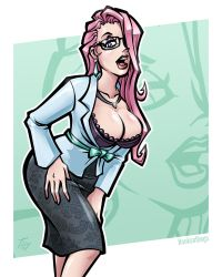 Office Babe: Veronique by hooksnfangs