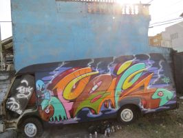 infect car by feik-graffiti