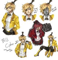 Human Bill Cipher by sayuttan
