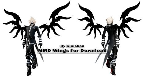 [MMD] Download- Wings n-1 by Kinishan