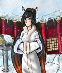 Cold (winter Kumi) by deathking12