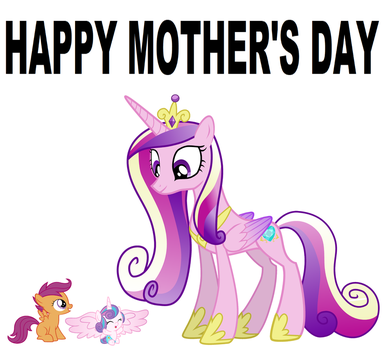 Happy Mother's Day, Cadance. by Hubfanlover678