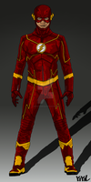 Arrow/Flash Concept: Flash Suit Update by IronAvenger1234
