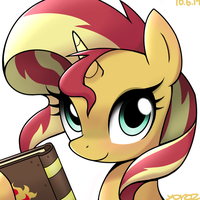 Sunset Shimmer by YorozPony
