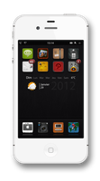 Minimalist iPhone 4S by Laugend