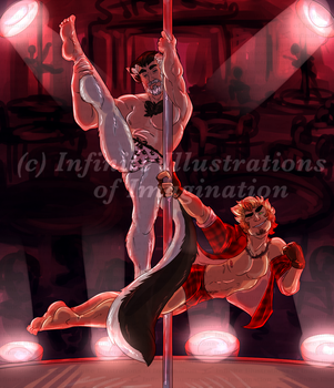 COMMISSION Duo Dancing COMMISSION by I3-byUsagi