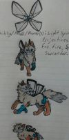 Koron of the Blinding Light (Reference Sheet) by ArtsyOwlFree3
