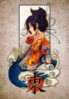 Tattoo girls- Oriental by HenarTorinos