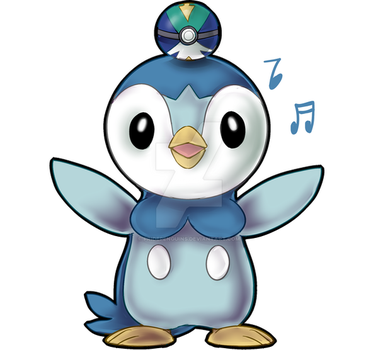 PKMN STICKERS: Piplup by PridePenguins