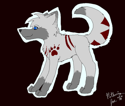 Wolf Adoptable!! **CLOSED** by ZerahCherise