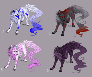 Wolf adopts - CLOSED by NoctaAdopts
