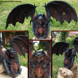 Deathwing - Hearthstone Sculpture FAN ART by AntonioBalicevic