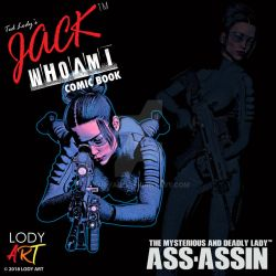 Jack WhoAmi Comic Book Assassin Poster 05 by LodyArt