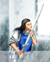 Fingolfin: Kiss with a Sword C by EcthelionF