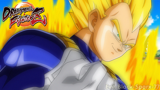 DB FighterZ - Prince Vegeta [Super Saiyan] by Evil-Black-Sparx-77
