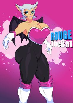 Rouge The Bat - Sonic the Hedgehog by Jay-Marvel