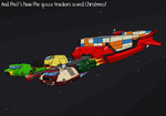 Space Truckers Save Christmas! by ScottaHemi