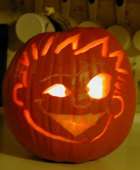 Calvin-o-lantern by TimothyFrisby